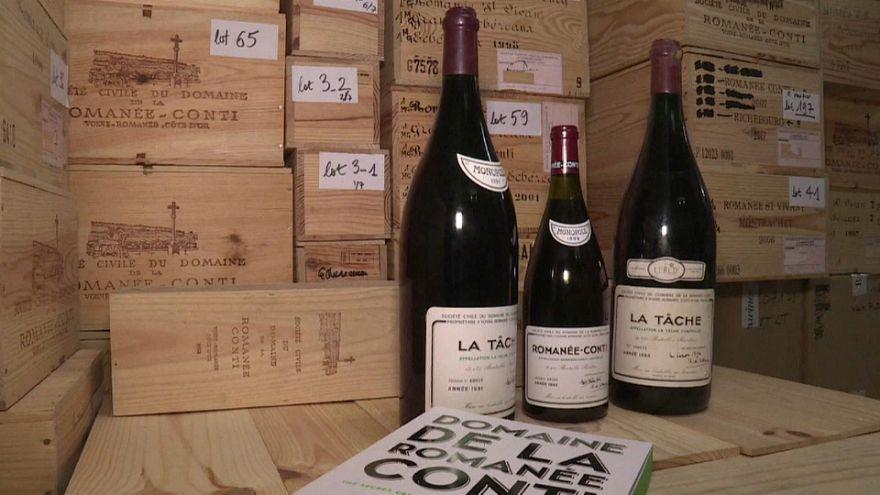 Le plus grand vin de Bourgogne aux enchères