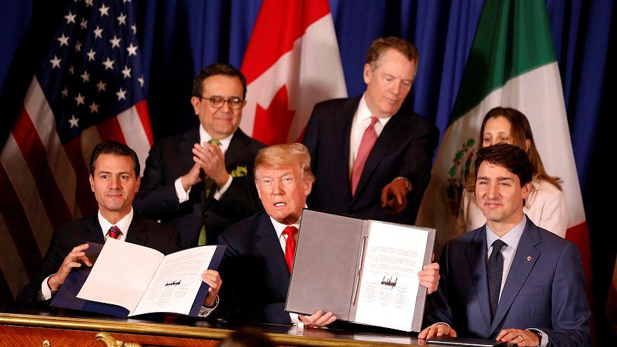 ΗΠΑ, Μεξικό και Καναδάς υπέγραψαν τη συνθήκη ελεύθερου εμπορίου