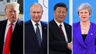 World leaders gather for G20 summit in Buenos Aires