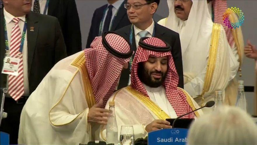 ولي العهد السعودي محمد بن سلمانفي قمة العشرين بالأرجنتين