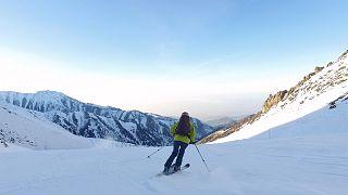 Buz pateninden kayak ve yamaç paraşütüne kış sporları cenneti Şimbulak