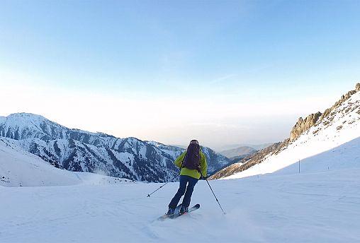 جاذبههای زمستانی قزاقستان؛ اسکی و پرواز