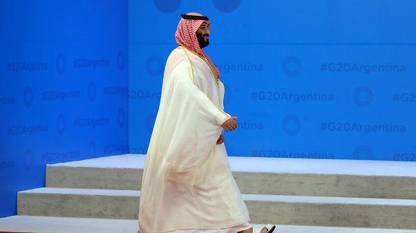 من هم الرؤساء الذين التقوا بولي عهد السعودية على هامش قمة العشرين؟