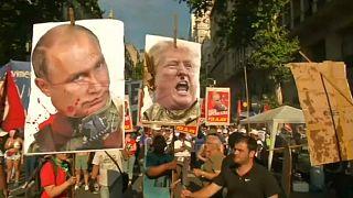 تظاهرات معترضان به جهانیسازی در آرژانتین