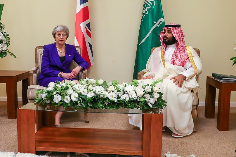 Oficina de la primera ministra británica/via REUTERS