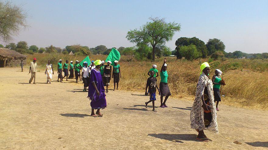 نساء في جنوب السودان