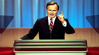 L'America celebra George H. Bush