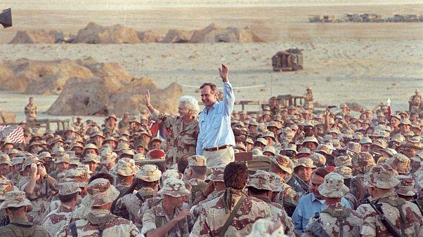 وفاة الرئيس الأمريكي السابق جورج بوش الأب عن 94 عاماً