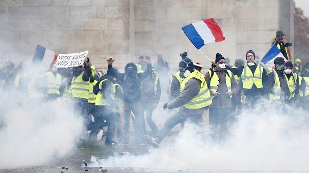 """Straßenschlachten in Paris: """"Fast wie im Bürgerkrieg"""""""