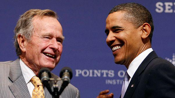 Gli Usa onorano H. W. Bush