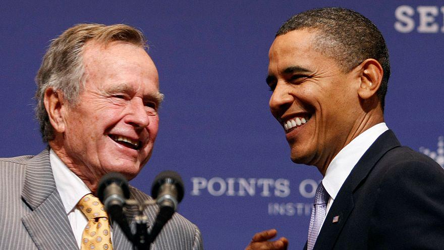 """Ушел Джордж-Буш-старший, """"истинный патриот"""" и """"непоколебимый лидер"""""""
