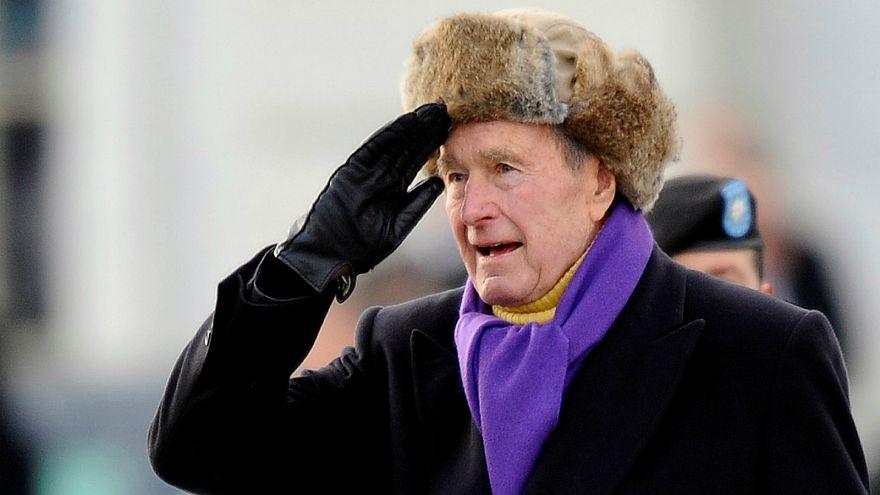 حين أرسل بوش الأب رسالة ترحيب بغريمه الانتخابي كلينتون