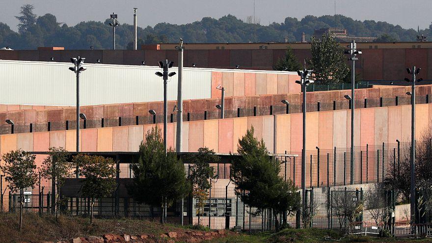 Exterior de la cárcel de Lledoners, en la provincia de Barcelona