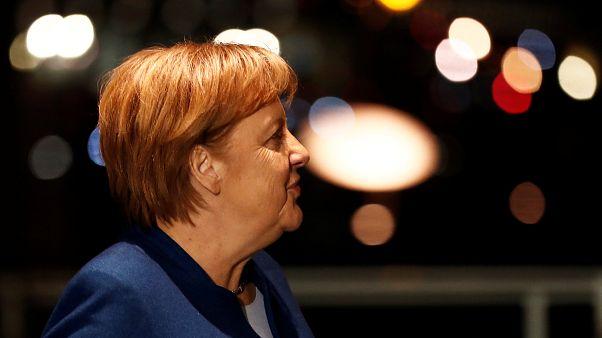 """""""Sie war sehr relaxt"""" - Merkels Sitznachbar (28) berichtet"""