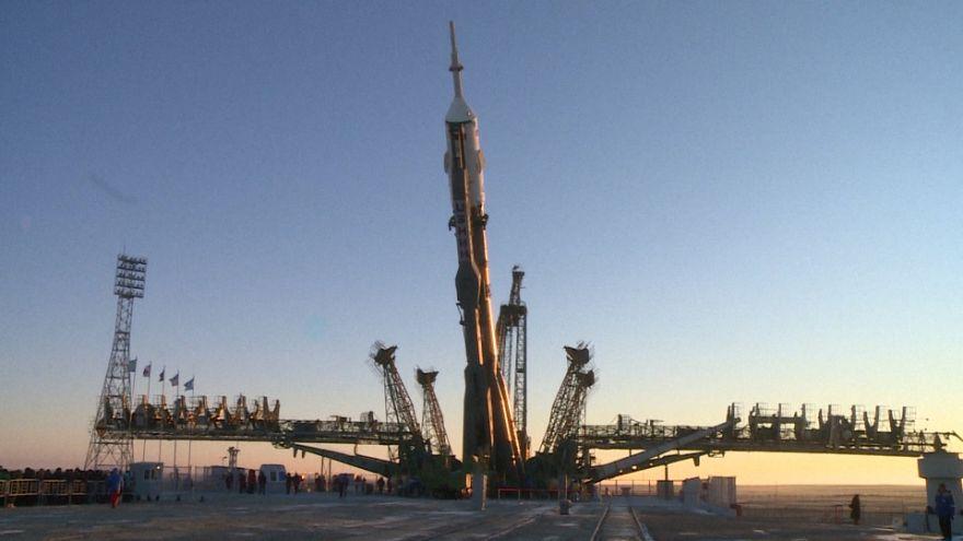 Premier vol vers l'ISS après un lancement raté en octobre