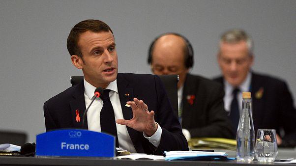 Macron, Muhammed bin Selman ile olan görüşmesinin detaylarını açıkladı