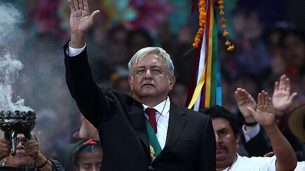 Neuer mexikanischer Präsident tritt sein Amt an