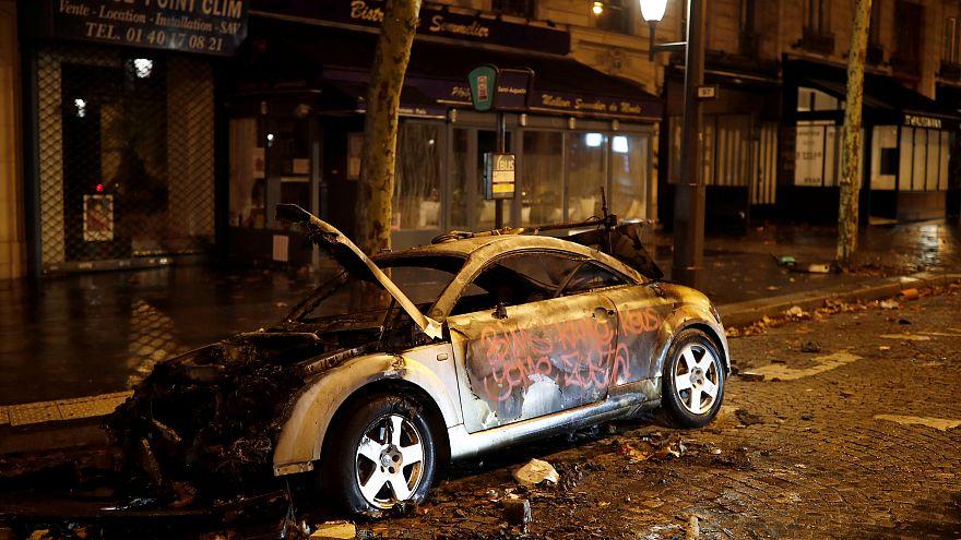 Paris: Schlimmste Proteste seit Mai '68