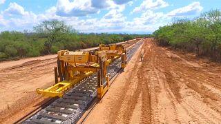 China renova rede ferroviária argentina