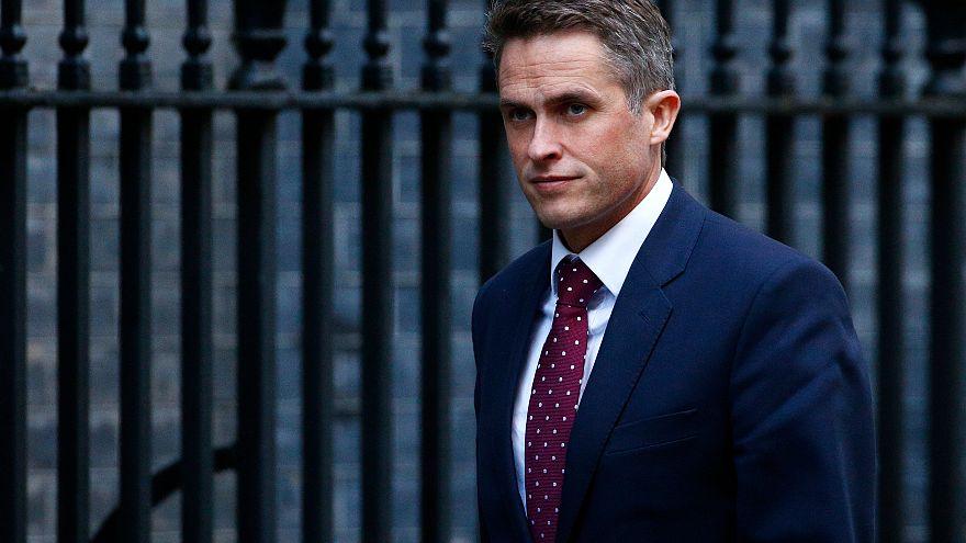 Britain's Defence Secretary Gavin Williamson on November 12, 2018.