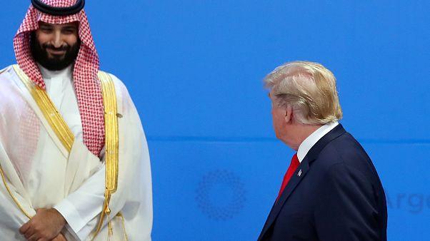 Trump'tan Suudi Arabistan'a Suriye teşekkürü