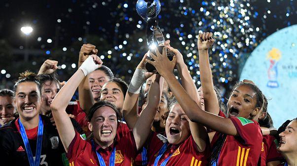 La selección española gana la copa del Mundial femenino Sub'17