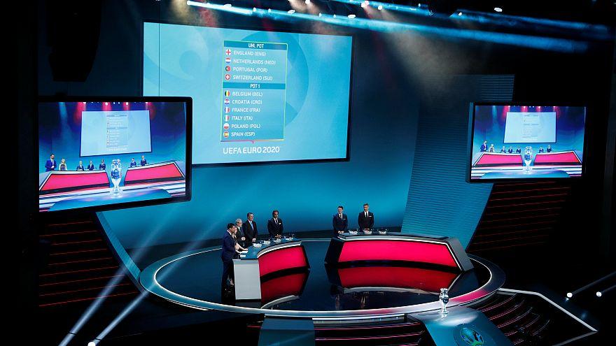 2020 Avrupa Futbol Şampiyonası eleme grupları belli oldu