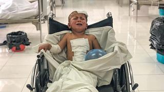 ABD Afganistan'daki hava saldırısında yaralanan 4 yaşındaki Hidayet