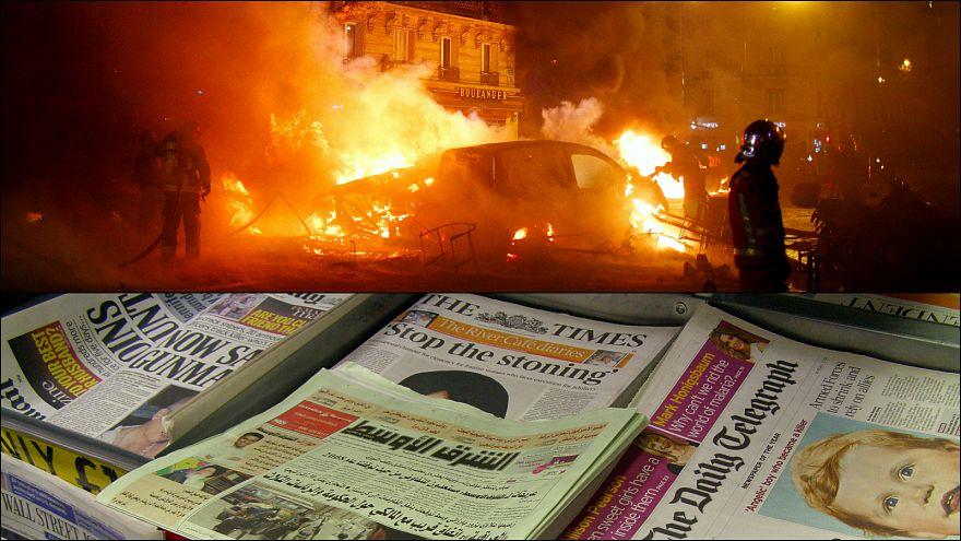Dünya basını Fransa'daki protestoları nasıl gördü?