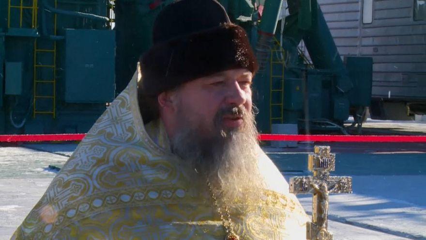 Spazio: Soyuz benedetta alla vigilia del lancio