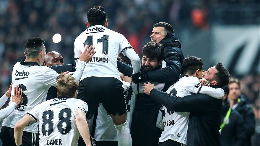 Haftanın derbisinde Beşiktaş Galatasaray'ı 1-0 mağlup etti