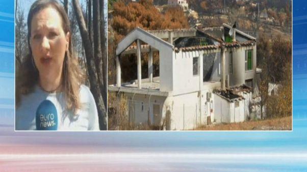 Retour à Mati, 40 jours après les incendies meurtriers