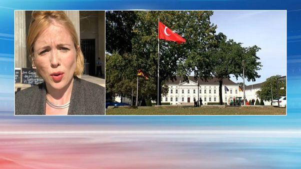 Visite contestée pour Erdogan à Berlin