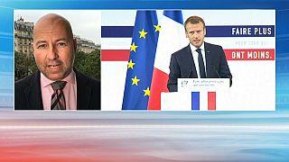 Macron expose son plan pauvreté
