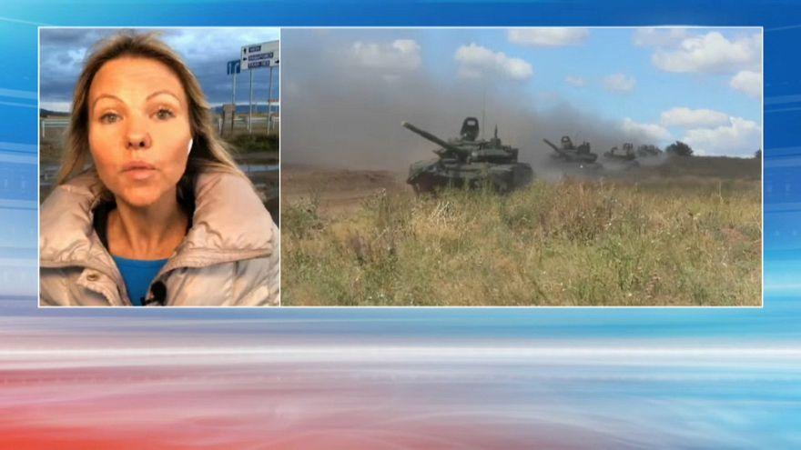 Démonstration de force de l'armée russe