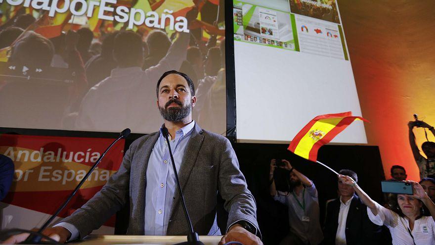 Bekerült a parlamentben a szélsőjobb Andalúziában is