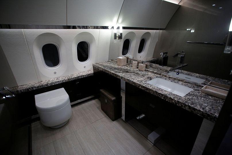 Así se veía por dentro el avión presidencial — En imágenes