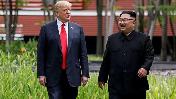 Trump'tan Kim'e mesaj: 2. görüşme iyi geçerse ABD'ye davet edeceğim