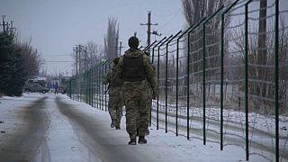 Забор на улице Дружбы народов