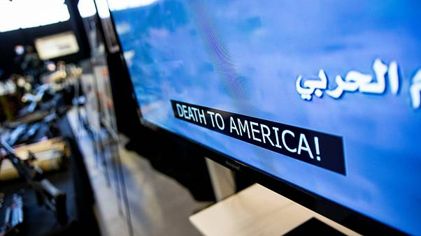 عرض لمواد إعلامية عسكرية إيرانية في الولايات المتحدة