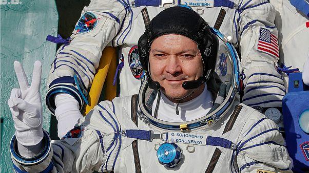 Ekimdeki kazanın ardından ilk insanlı uzay aracı UUİ yolunda