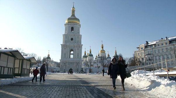 Calma y preocupación en Kiev por las tensiones con Rusia