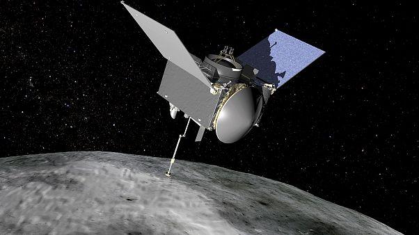 Το σκάφος Osiris-REx ανακάλυψε ενδείξεις νερού στον αστεροειδή Μπενού