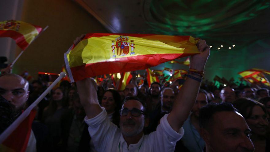 """Крайне правый """"Голос"""" в Андалусии"""