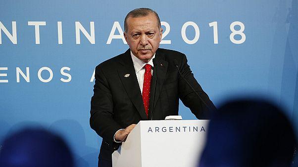 Ερντογάν: Θα συνεχίσουμε να λαμβάνουμε τα αναγκαία μέτρα στην ανατολική Μεσόγειο