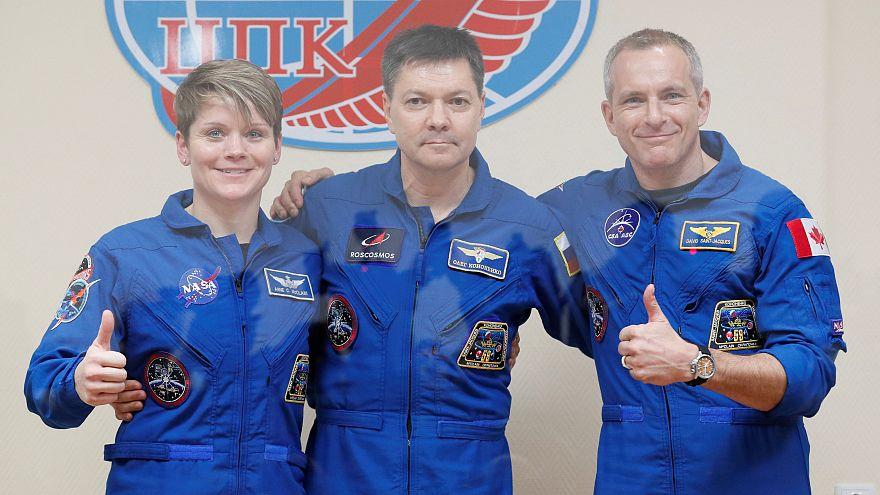 ISS : revivez le décollage de la mission Soyouz MS-09