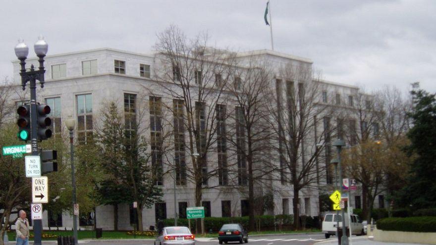 مبنى السفارة السعودية في واشنطن