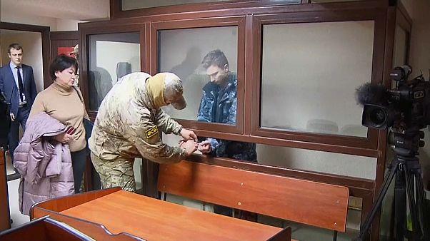 Rusia acusa a los 24 marineros ucranianos de cruzar ilegalmente