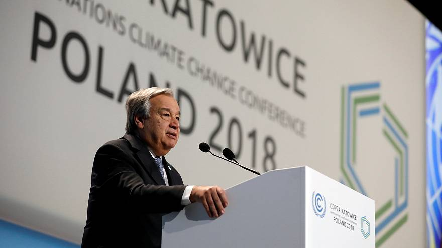COP24: 'We can't afford to fail in Katowice,' says UN's Guterres