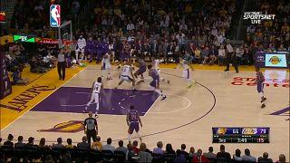 Los Lakers de LeBron ya intimidan